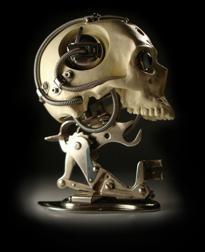 Miniature Biomechanical Skull Ver 3 2004